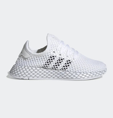 Buty Adidas Deerupt Runner (F34295) CLOUD WHITE/CORE BLACK/GREY TWO