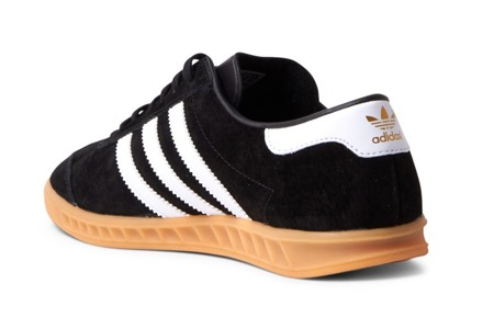 Buty Adidas Hamburg S76696 Core BlackWhiteGum