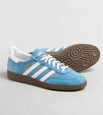 Buty Adidas Handball Spezial (033620) BlueFootwear WhiteGum