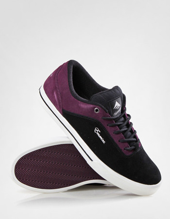 Buty Emerica G-code (black/purple)