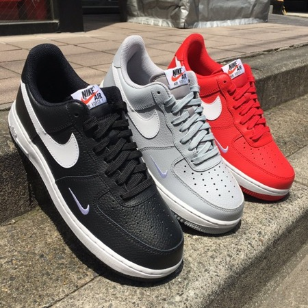 Buty Nike Air Force 1 (820266-021) MINI SWOOSH black/white