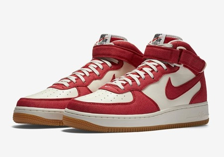 Buty Nike Air Force 1 Mid 315123 607 Unvrsty Red | Obuwie