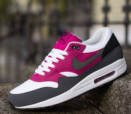 Buty Nike Air Max 1 Essential 537383-105 White/Dark Backside/Bright Magenta