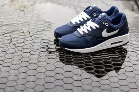 Buty Nike Air Max 1 Gs 555766-405 Navy/White