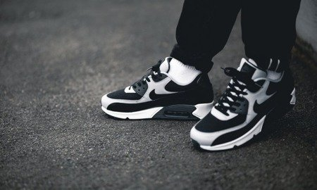 Buty Nike Air Max 90 Essential 537384 053 Black Black Wolf Grey Anthrct