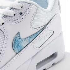 48f2a3138d Buty Nike Air Max 90 MESH GS 833418-111 White/Royal | Obuwie ...
