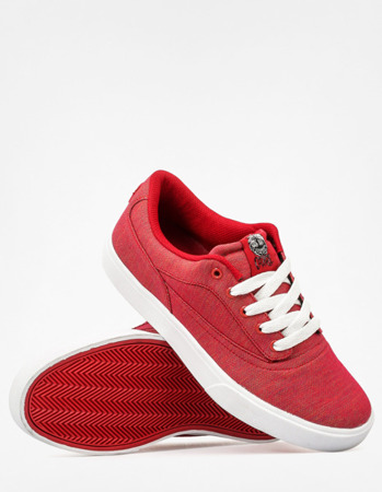 Buty OSIRIS Caswell VLC (red/red/ccc)