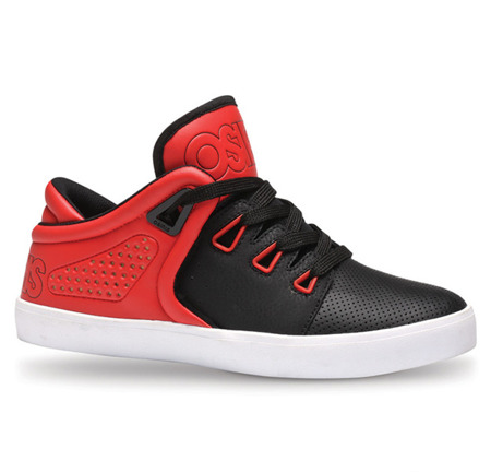 Buty OSIRIS D3V (blk/red/wht)
