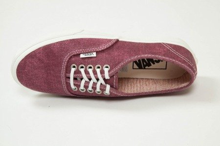Buty Vans AUTHENTIC SLIM (Stripes) washed/tawny port