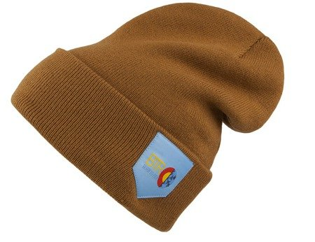 Czapka Born To Ride Pocket Brown