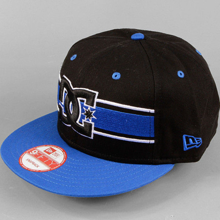 Czapka DC Ribbon black/blue