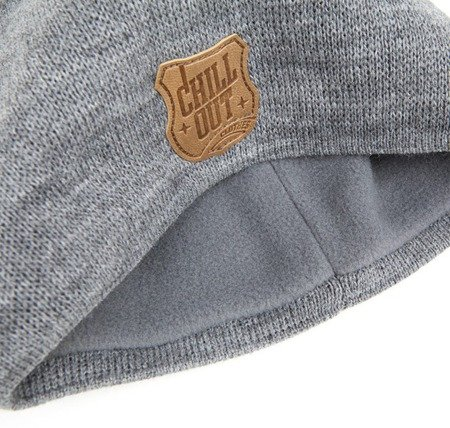 Czapka Zimowa Chillout Clothes Herb DB grey