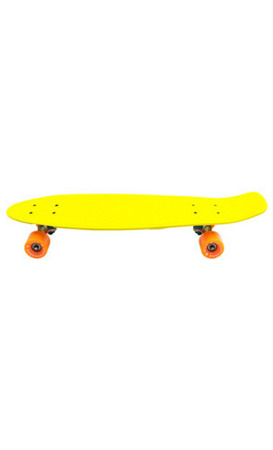 Deskorolka Big Fish Skateboards Yellow/Steel/Orange
