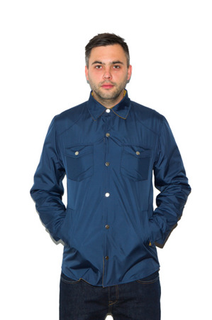 Koszula FlatRock Clothing TWO-SIDED navy