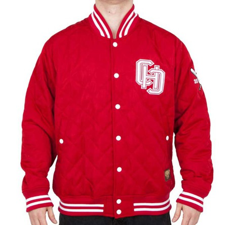 Kurtka Chillout Clothes Baseball CHC Red