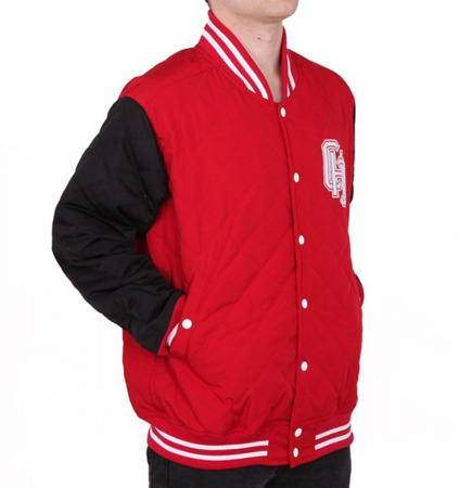 Kurtka Chillout Clothes Baseball CHC Red/Black