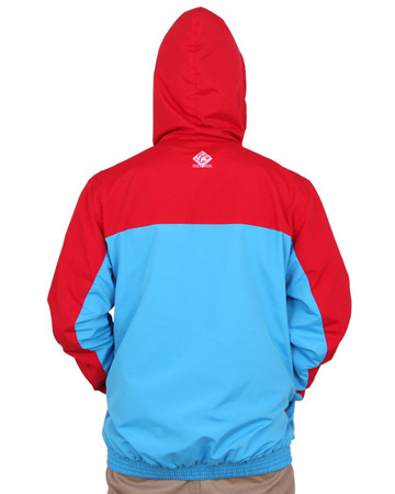 Kurtka Chillout Clothes Caligraphy Red/Blue