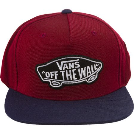 Snapback VANS Classic Patch ZD (rhubarb dress blues)