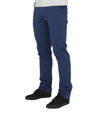 Spodnie Chillout Clothing Chino navy