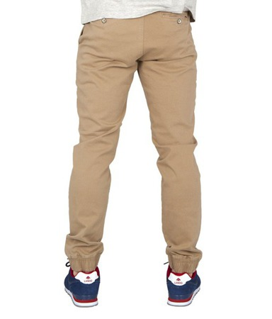 Spodnie Chillout Clothing Jogger beżowe