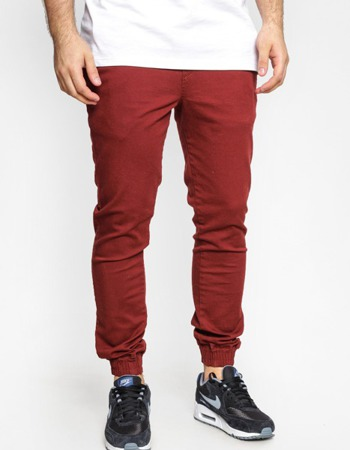 Spodnie Jogger Diamante Wear Classic Bordo