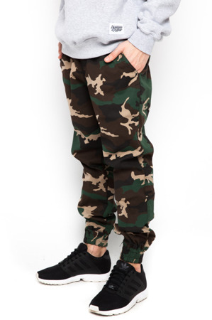 Spodnie Jogger Diamante Wear Woodland Camo