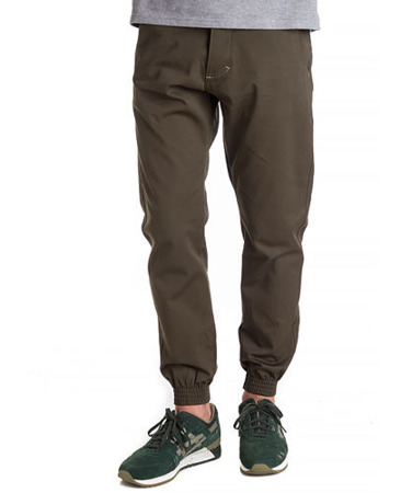 Spodnie Turbokolor Jogger Trainer green