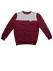 Bluza Alkopoligamia DUB Label Bordo x Szary