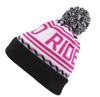 Czapka Born To Ride Pompon Classic Pink